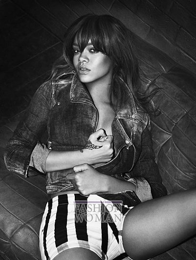 Rihanna в рекламной кампании Emporio Armani весна-лето 2012 фото №4