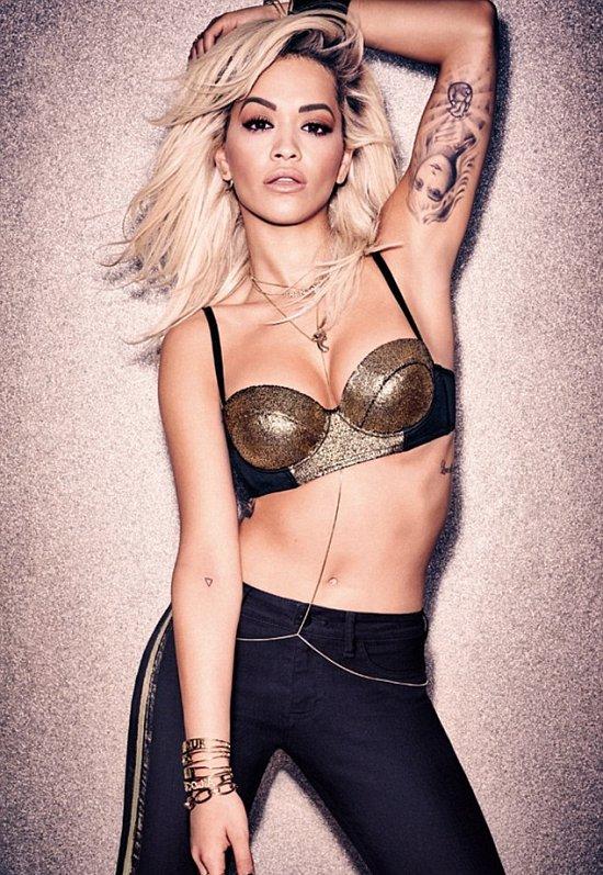 Рита Ора в рекламной кампании нижнего белья Tezenis осень-зима 2015-2016