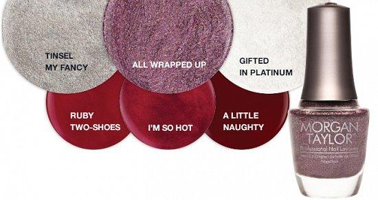 Рождественская коллекция лаков для ногтей Morgan Taylor Gifted with Style фото №4