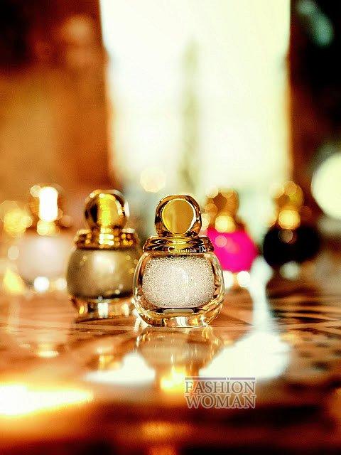 Рождественская коллекция макияжа Dior Golden Winter Holiday 2013 фото №2