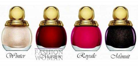 Рождественская коллекция макияжа Dior Golden Winter Holiday 2013 фото №12