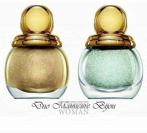 Рождественская коллекция макияжа Dior Golden Winter Holiday 2013 фото №13