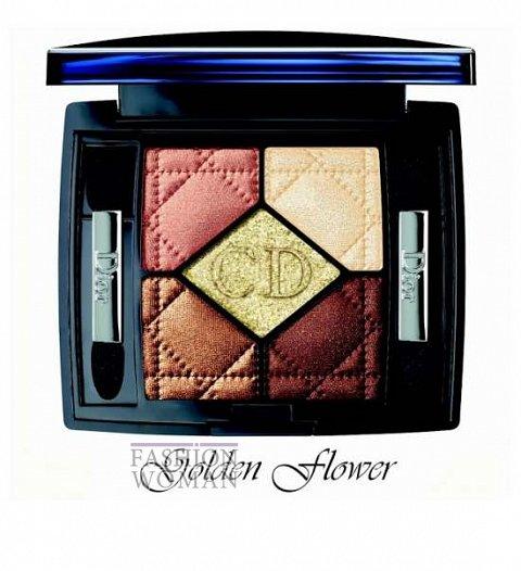 Рождественская коллекция макияжа Dior Golden Winter Holiday 2013 фото №5