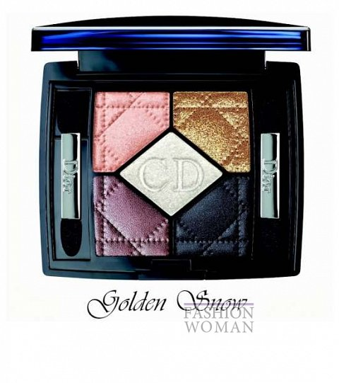 Рождественская коллекция макияжа Dior Golden Winter Holiday 2013 фото №6