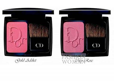 Рождественская коллекция макияжа Dior Golden Winter Holiday 2013 фото №9