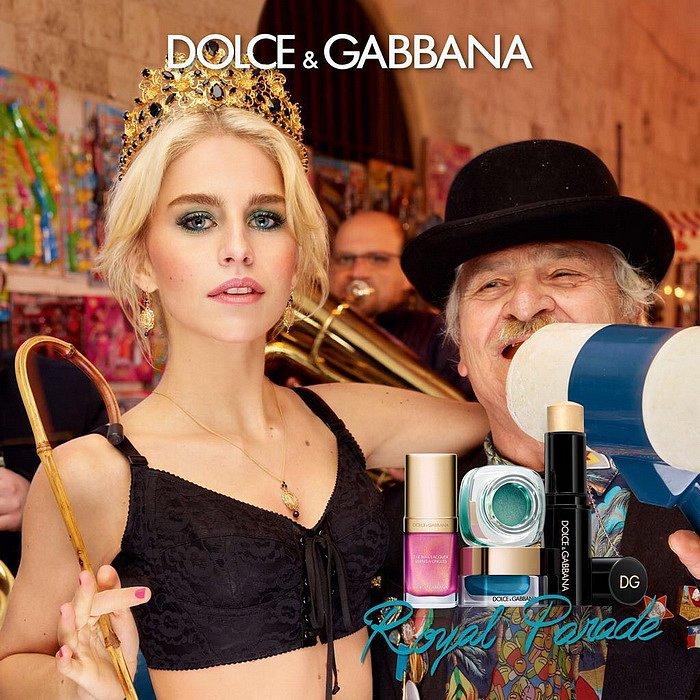 Рождественская коллекция макияжа Dolce  фото №1