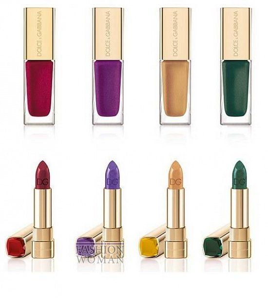 Рождественская коллекция макияжа Dolce & Gabbana Sicilian Jewels Holiday 2013
