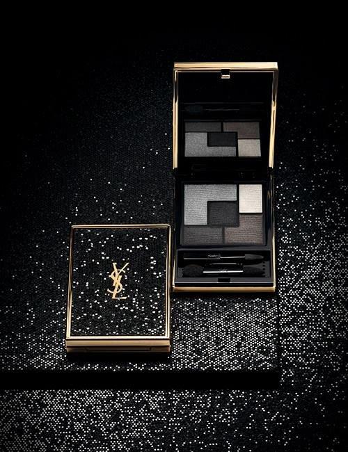 Рождественская коллекция макияжа Yves Saint Laurent Wildly Gold Holiday 2014  фото №3