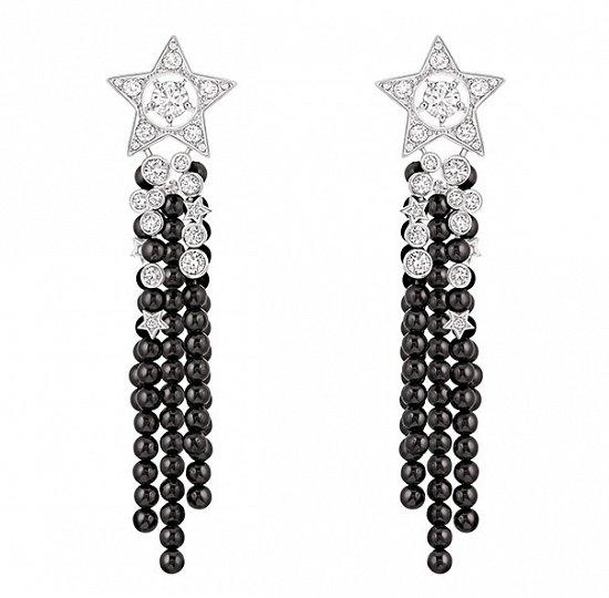 Рождественская коллекция ювелирных украшений Les Cometes de Chanel