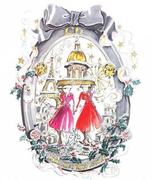 Рождественские и новогодние подарки от Christian Dior фото №6