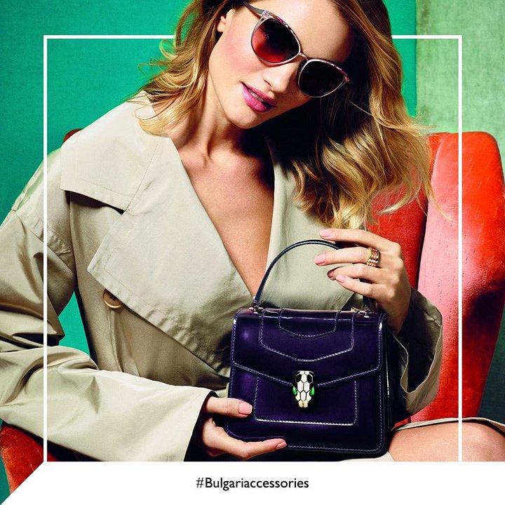 Рози Хантингтон-Уайтли в рекламе Bulgari осень-зима 2016-2017 фото №5
