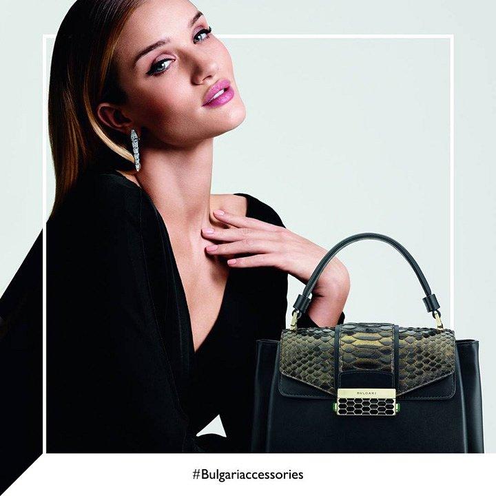 Рози Хантингтон-Уайтли в рекламе Bulgari осень-зима 2016-2017 фото №6