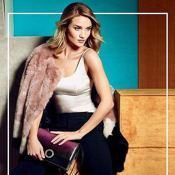 Рози Хантингтон-Уайтли в рекламе Bulgari осень-зима 2016-2017 фото №4
