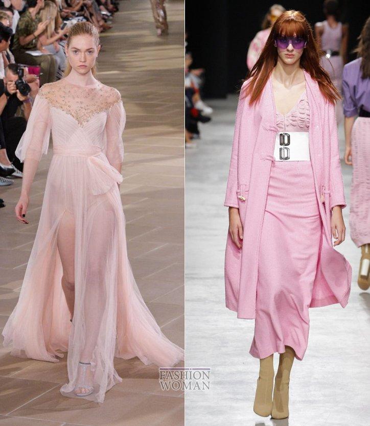 Розовый - модный цвет сезона весна-лето 2017 фото №16