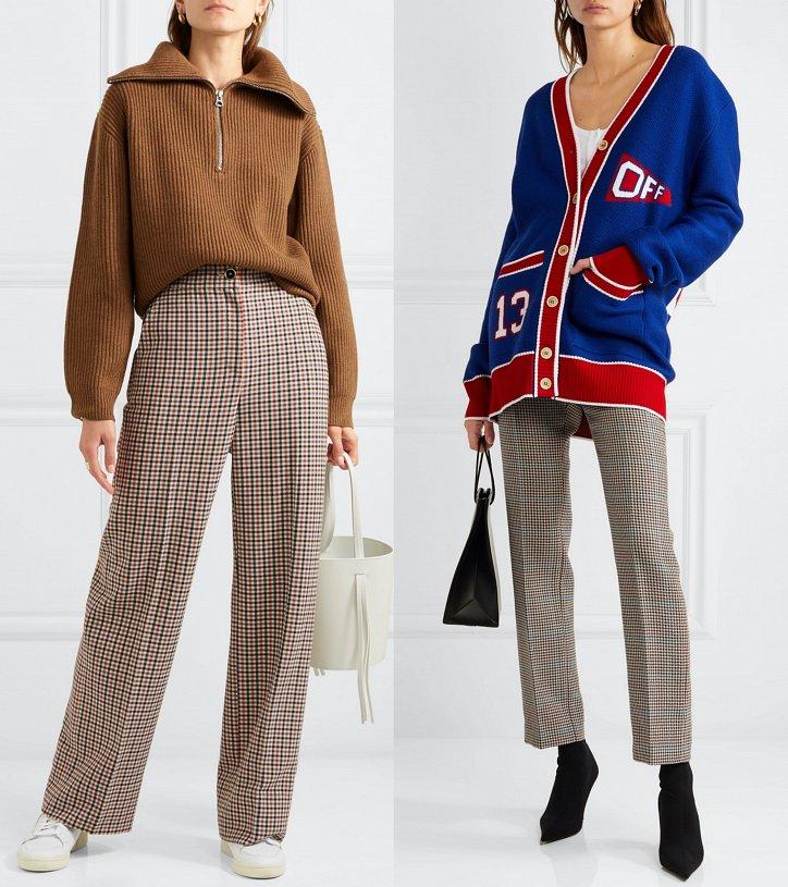 Стильный коллаж от Миланы Мосс. Коричневый свитер + коричневые ... | 815x724