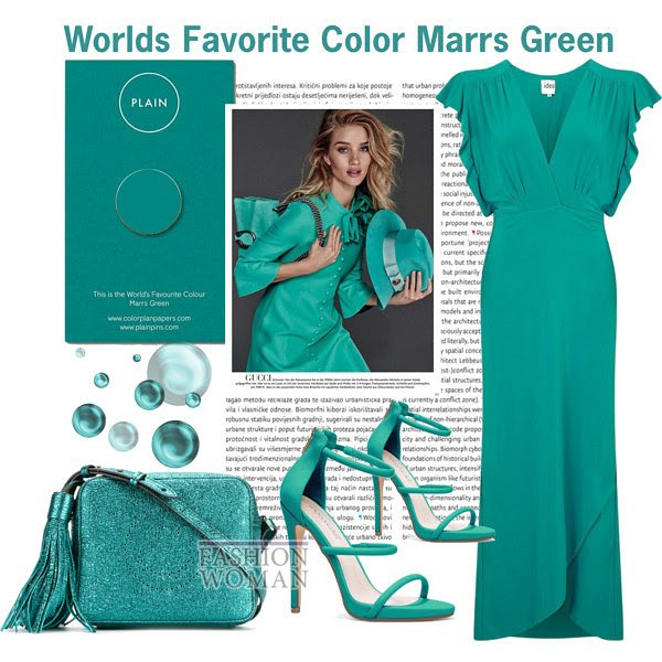 Worlds Favorite Color Marrs Green