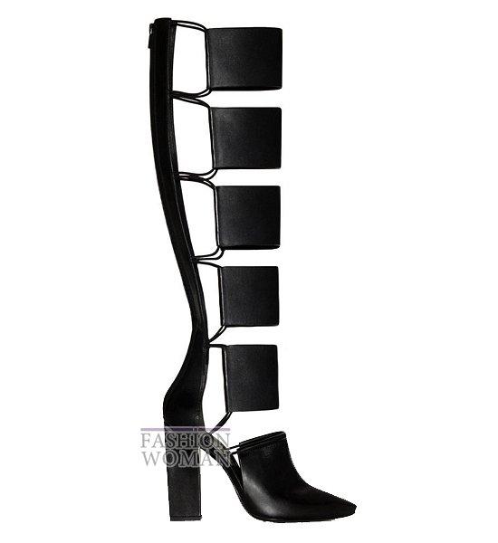 сандалии-гладиаторы от Alexander Wang