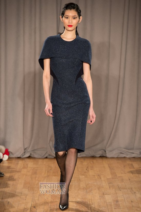 Серое платье. С чем носить? фото №30