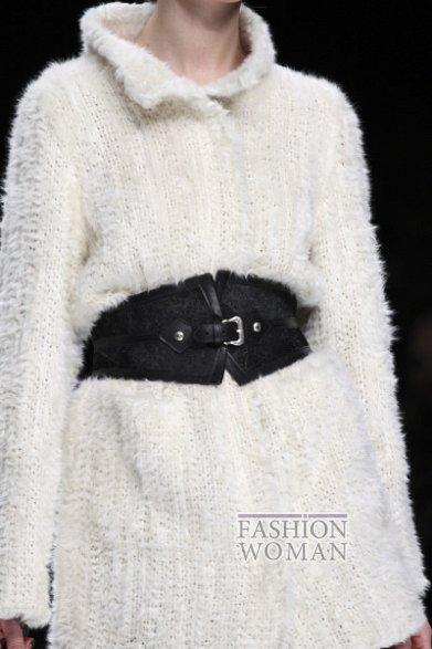 Широкий пояс - модный хит осень-зима 2012-2013 фото №17