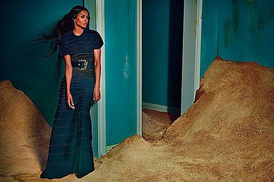 Сиара в рекламной кампании Roberto Cavalli осень-зима 2015-2016 фото №3