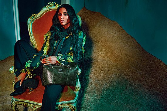 Сиара в рекламной кампании Roberto Cavalli осень-зима 2015-2016 фото №5