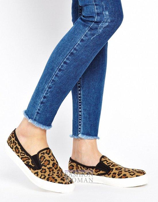 леопардовые слипоны