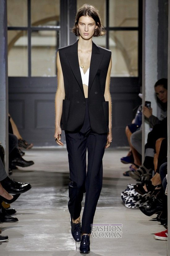 Смокинг - модный тренд сезона фото №12