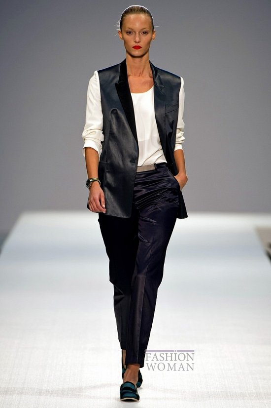 Смокинг - модный тренд сезона фото №16