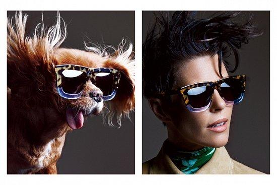 Собака стала лицом рекламной кампании Karen Walker фото №16
