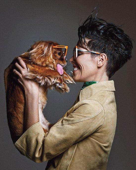 Собака стала лицом рекламной кампании Karen Walker фото №1