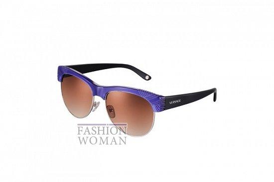 Солнцезащитные очки Versace весна-лето 2012 фото №21
