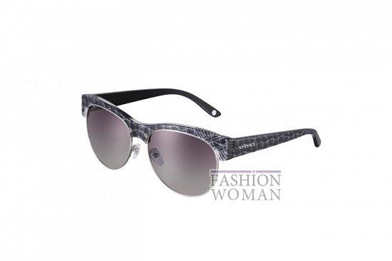 Солнцезащитные очки Versace весна-лето 2012 фото №22