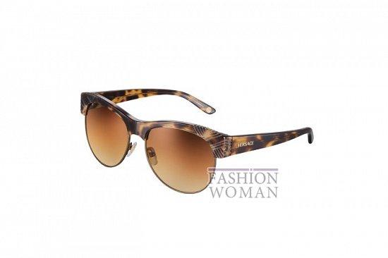 Солнцезащитные очки Versace весна-лето 2012 фото №23