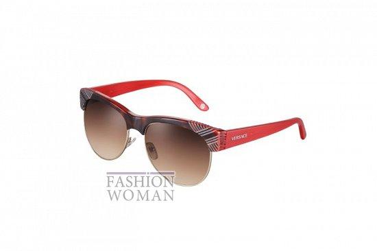Солнцезащитные очки Versace весна-лето 2012 фото №24