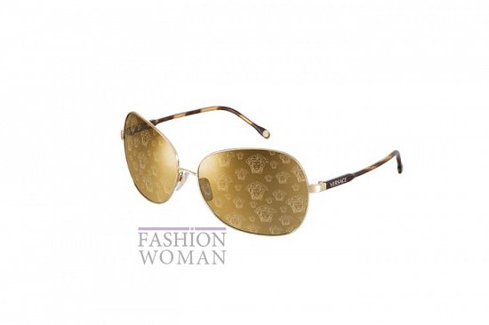 Солнцезащитные очки Versace весна-лето 2012 фото №6