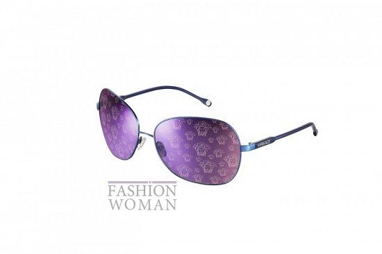 Солнцезащитные очки Versace весна-лето 2012 фото №8