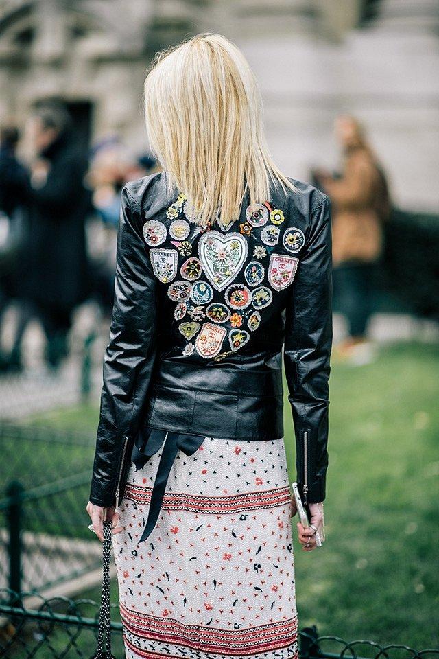 Street style на Неделе высокой моды в Париже весна-лето 2016 фото №5