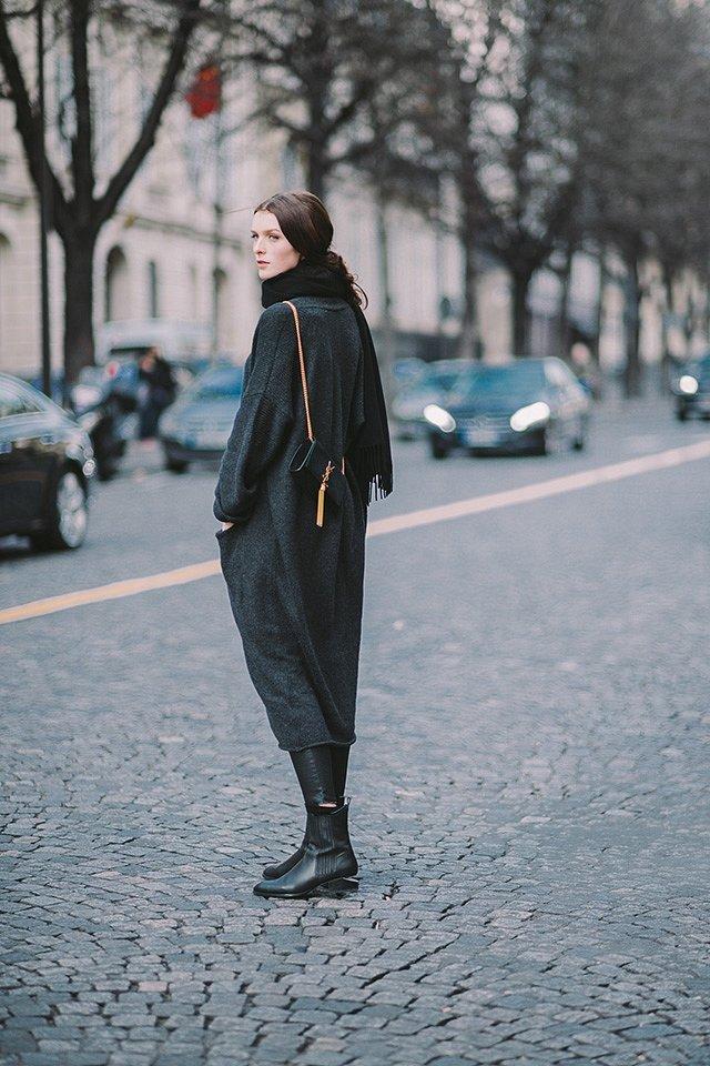 Street style на Неделе высокой моды в Париже весна-лето 2016 фото №8