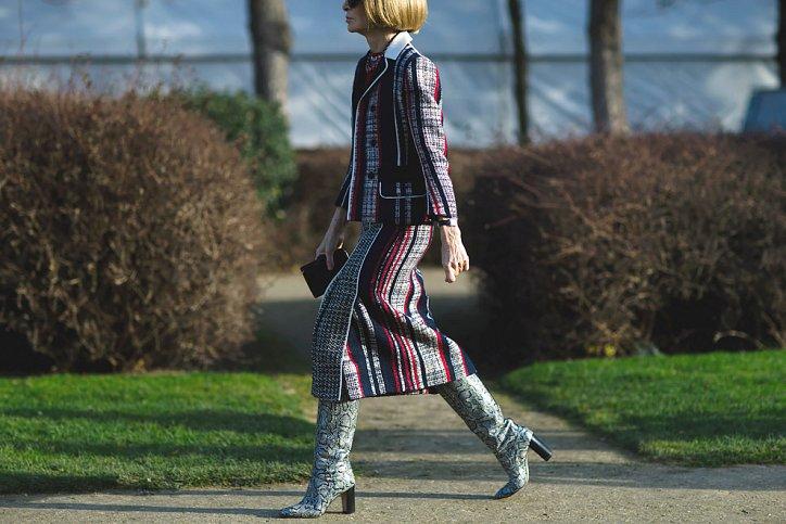 Street style на Неделе высокой моды в Париже весна-лето 2016 фото №7