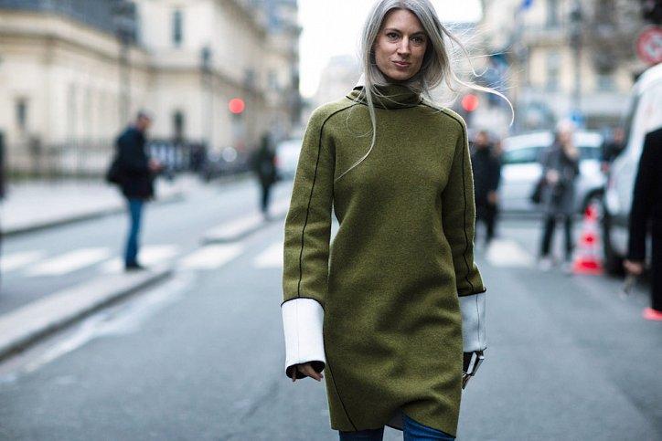 Street style на Неделе высокой моды в Париже весна-лето 2016 фото №9