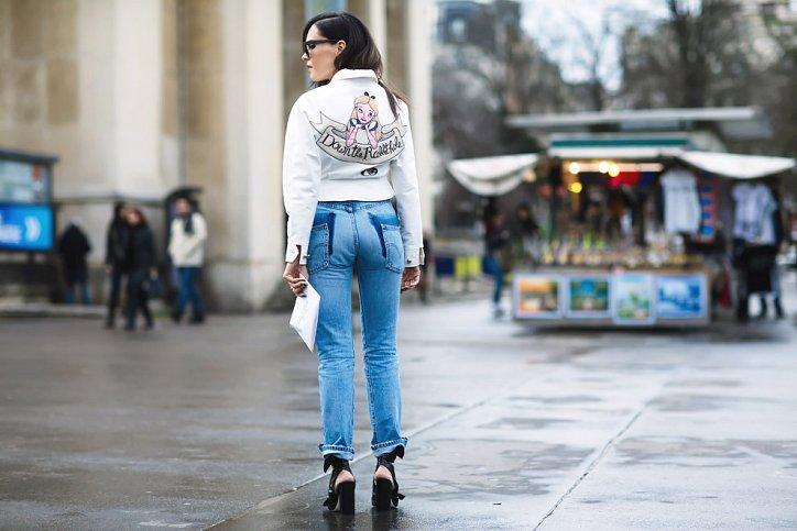 Street style на Неделе высокой моды в Париже весна-лето 2016 фото №10