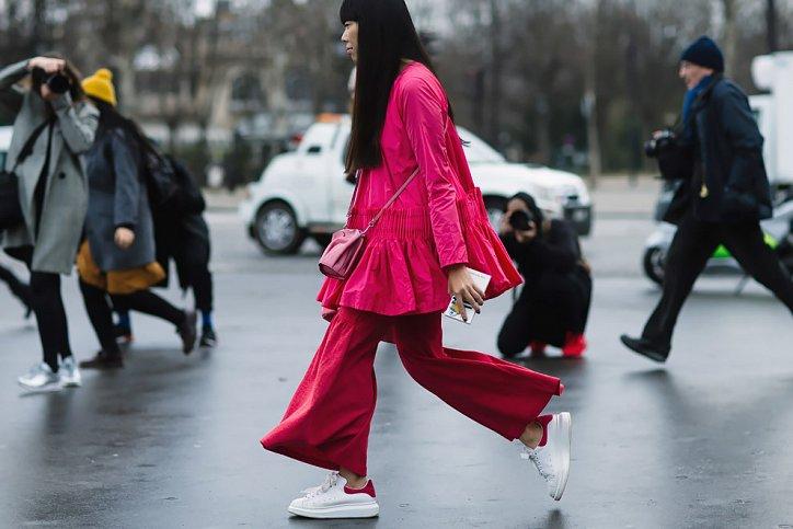 Street style на Неделе высокой моды в Париже весна-лето 2016 фото №11