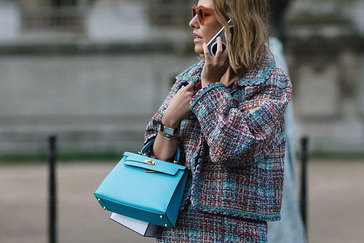Street style на Неделе высокой моды в Париже весна-лето 2016 фото №15