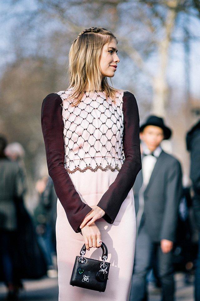 Street style на Неделе высокой моды в Париже весна-лето 2016 фото №20