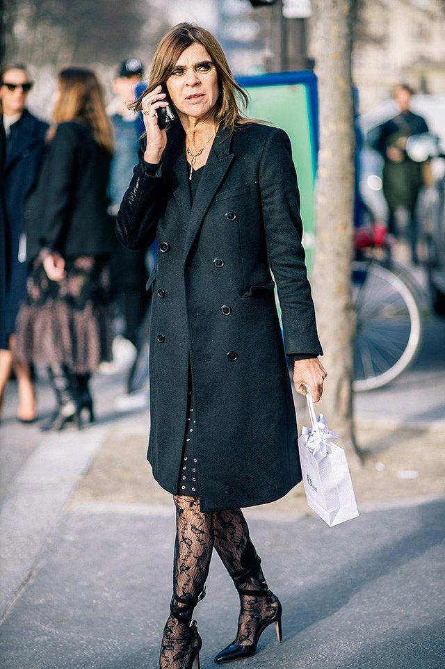 Street style на Неделе высокой моды в Париже весна-лето 2016 фото №21