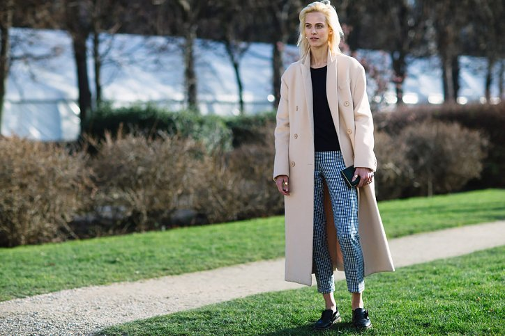 Street style на Неделе высокой моды в Париже весна-лето 2016 фото №4