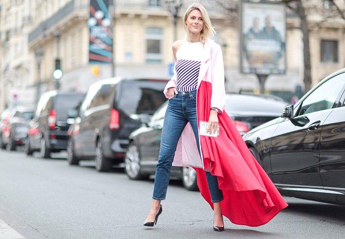 Street style на Неделе высокой моды в Париже весна-лето 2016 фото №25