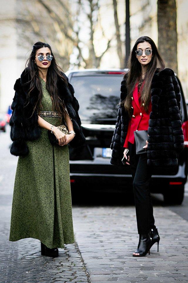 Street style на Неделе высокой моды в Париже весна-лето 2016 фото №27