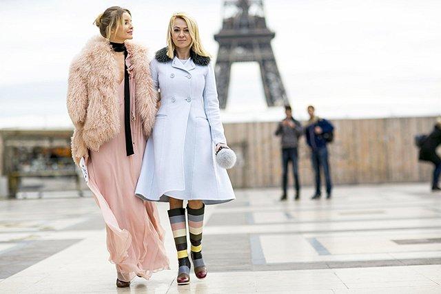 Street style на Неделе высокой моды в Париже весна-лето 2016 фото №31