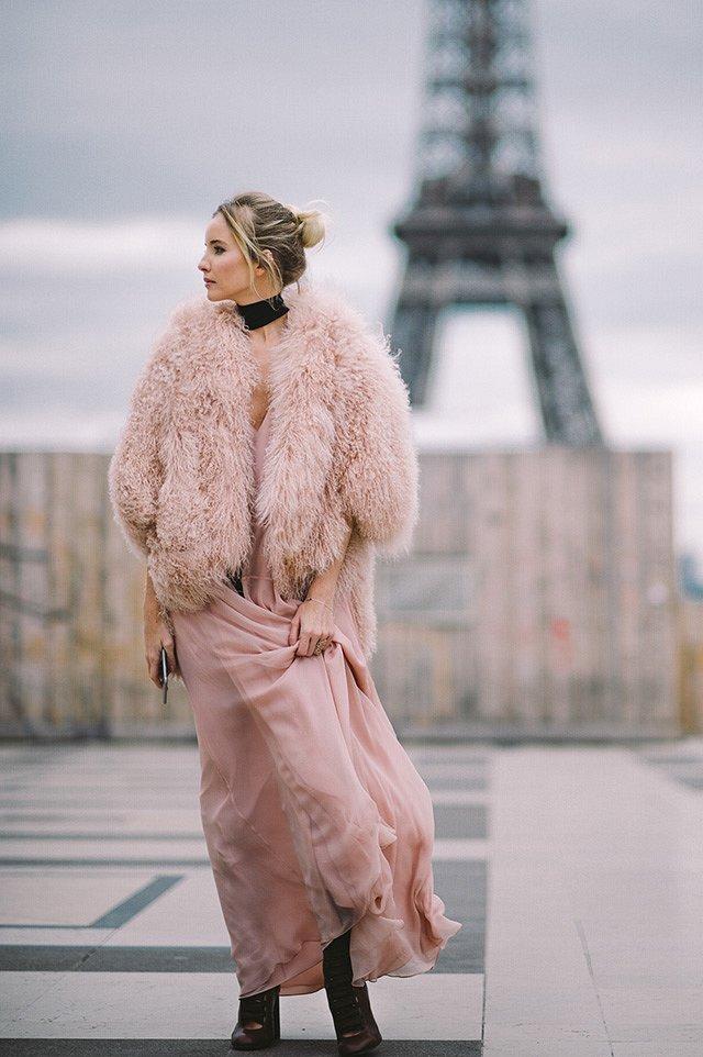 Street style на Неделе высокой моды в Париже весна-лето 2016 фото №32